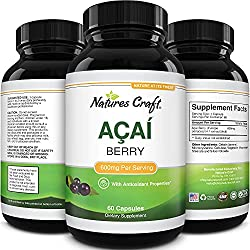 Acai Berry Detox Weight Loss Supplements Antioxidant Superfood