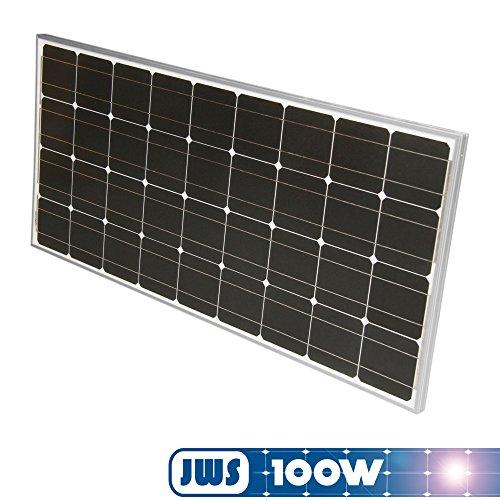 100Watt 100W Solarpanel 12Volt MONOKRISTALLIN