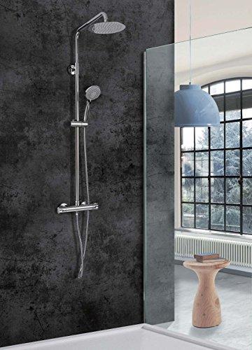 Conjunto de ducha termostática Londres Imex
