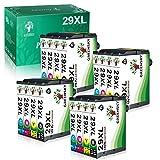 GREENSKY Remplacement de la Cartouche d'encre Compatible pour Epson 29XL 29 XL pour Epson Expression Home XP-255 XP-345...