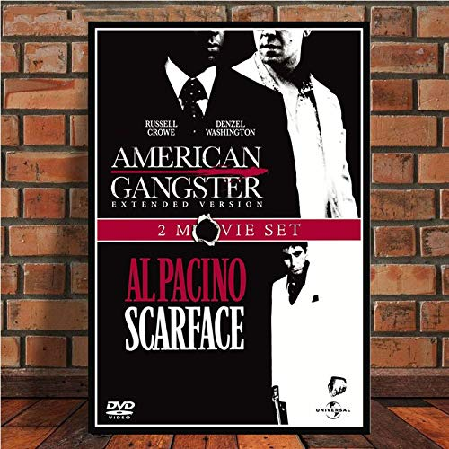 No frame AL PACINO SCARFACE Gangster filmposter Canvas schilderij muur foto voor Home Decor posters en prints 50x60cm