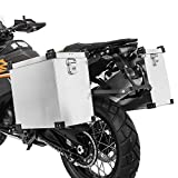 Maletas de aluminio 41l + kit 18mm para BMW F 800 R/S/ST/GT/GS/Adventure, F 700 GS