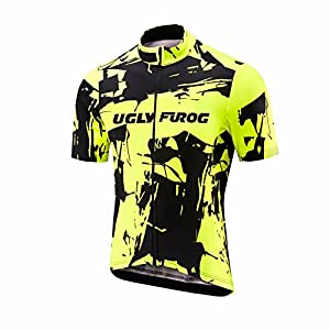 Uglyfrog Cycling Jersey Womens Short Sleeve Road Bike Shirt with Pockets Riding Tops and Shorts Suits Breathable DXWZ01