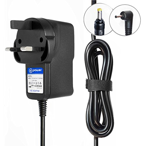 T POWER ( 2 Meter Cable Ac Adapter for (ROUND BARREL PLUG TIP) Acer One 10 S1002-145A N15P2 N15PZ 2-IN-1, S1002-17FR S1002-17FR-US NT.G53AA.001 10.1 Tablet Charger Power Supply