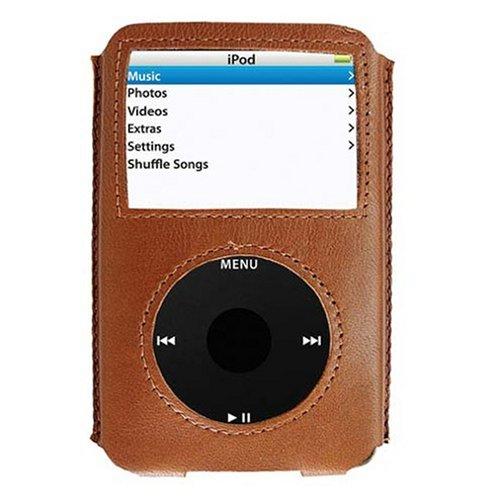 i-doll Rainbow Lederhülle für iPod 5 G. 30/60 GB braun