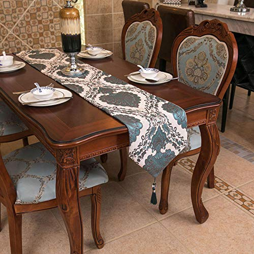 Branfan Amerikaanse retro minimalistische woonkamer Europese stijl tafel loper tafelkleed doek teller TV legende lang