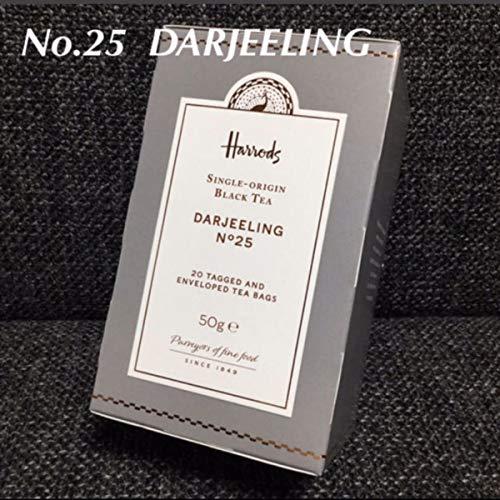 Harrods ハロッズ No.25 ダージリン ティーバッグ 紅茶