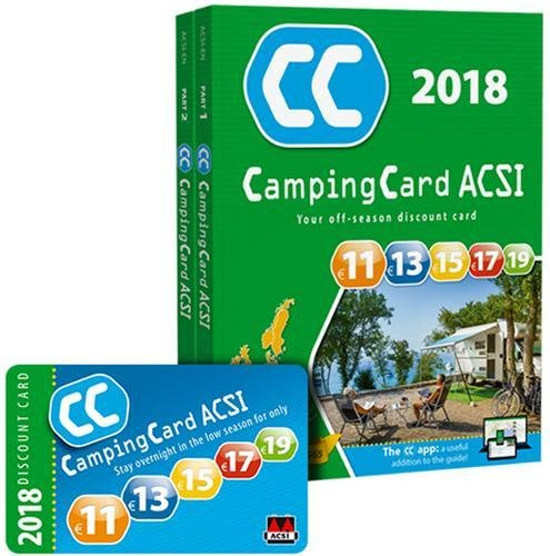 CampingCard 2018 20 countries: ACSICARD.20.E, 2er Set
