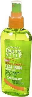 Garnier Fructis Style Sleek & Shine Flat Iron Perfector Straightening Mist 6 oz (Pack of 3)