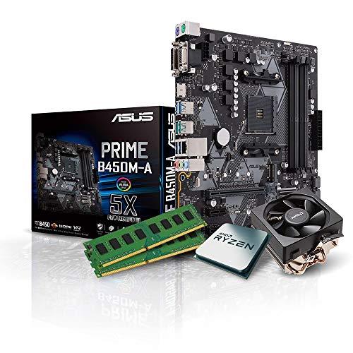 Kiebel Aufrüst-Bundle - AMD Ryzen 7 3700X (8x3.6 GHz), 16GB DDR4 3000, Aufrüst Set komplett vormontiert und getestet [182202]