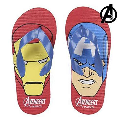 The Avengers Unisex kinderen S0711502 Flip Flop, rood, 27 EU