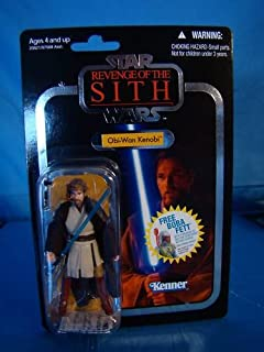Star Wars Revenge of the Sith Foil Variant 2010 Obi-Wan Kenobi Action Figure