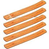 Opopark 5 Pezzi Bastoncini di Incenso in Legno Bruciatore di Incenso Ash Catcher
