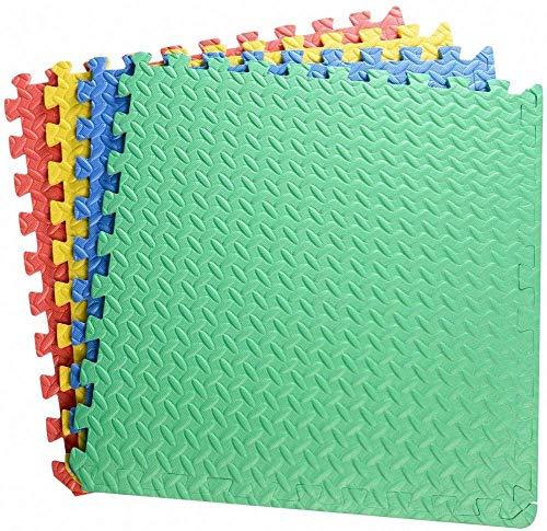 Grandes enclavamientos EVA espuma Playmats 60 * 60 * 2.5 cm de espesor de bebé Puzzle for bebé Azulejos for la sala de juegos House Kids Protective Ejercicio Gimnasios Deportes Entrenamiento Alfombra