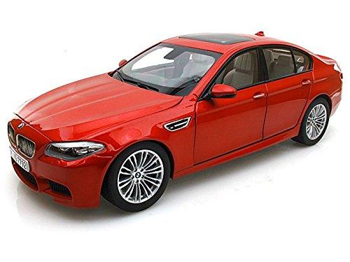 2012 BMW M5 (F10M) Sakhir Orange 1/18 by Paragon Models 97013