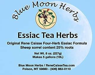 Essiac Tea Herbs Organic with Sheep Sorrel Content 25% Root - 8 oz.