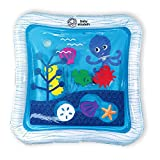 Baby Einstein Octopus Water Play Mat - Safety Fill Line, Tummy Time Activity & Sensory Toy for Babies Newborn and up, Blue
