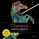 Livre à gratter  Chevaux