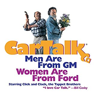 Car Talk: Men Are from GM, Women Are from Ford audiobook cover art