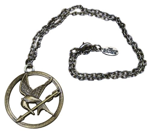 The Hunger Games Movie Necklace Single Chain 'Mocking Jay'