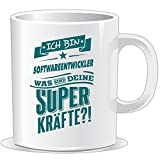 getshirts - Rahmenlos Geschenke - Tasse - Superpower Softwareentwickler - Petrol - Uni Uni