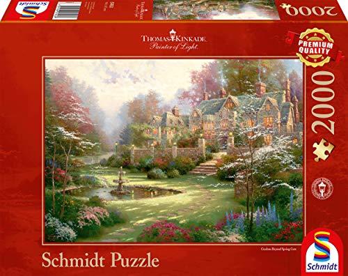Schmidt Spiele 57453 - Puzzle Thomas Kinkade - Landsitz, 2000 Teile