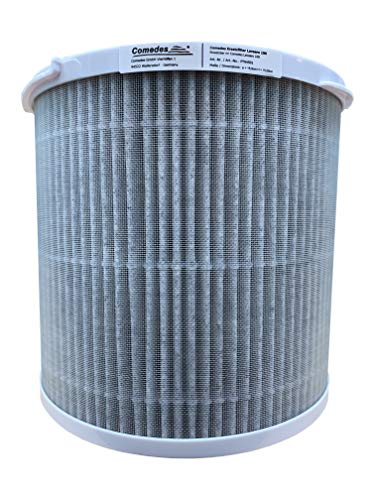 Comedes Ersatzfilter für Lavaero 100 (Bestehend aus Vorfilter, Aktivkohle, HEPA-Element und Photokatalysefilter)