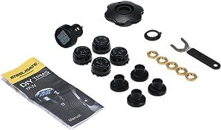 Romacci Sistema de Monitor de pressão do pneu TP-74B 4 sensores sem fio DIY TPMS com Display LCD