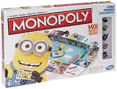 MINIONS - Monopoly, Juego de Mesa (Hasbro A25744470) (versión en francés)