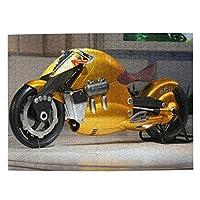 木製 パズル ジグソーパズル オートバイ コンセプトモーターサイクル おもちゃ 能力鍛え 脳力訓練 面白い 達成感 エコ 複雑 レベル チャレンジ 300 500 1000ピース