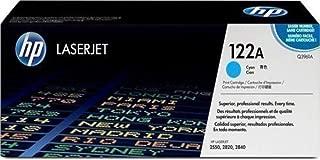HP Q3961A 122A Cyan Original LaserJet Toner Cartridge For 2550 2800 2820 2830 2840 - 4,000 Pages (Renewed)