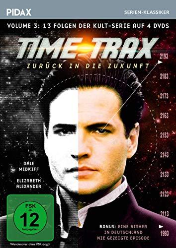 Time Trax - Zurück in die Zukunft, Vol. 3 / Weitere 13 Folgen der Kult-Serie + Bonusfolge (Pidax Serien-Klassiker) [4 DVDs]
