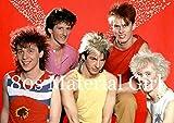 80er Jahre Party Dekorationen - 10 x 80er Jahre Popstars und Bands Poster - 7