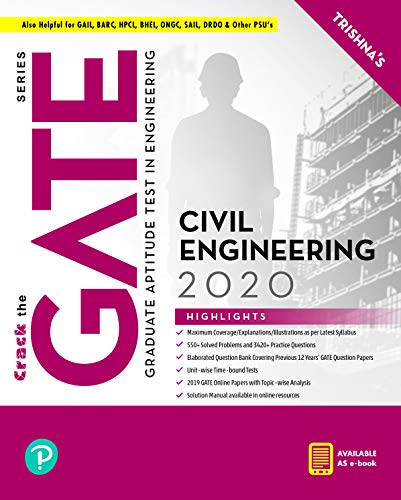 GATE Civil Engineering By Pearson Paperback