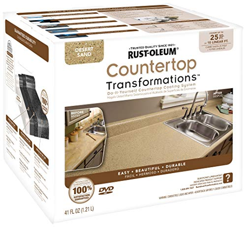 Product Image of the Rust-Oleum Countertop Transformations Kit, Small Kit, Desert Sand