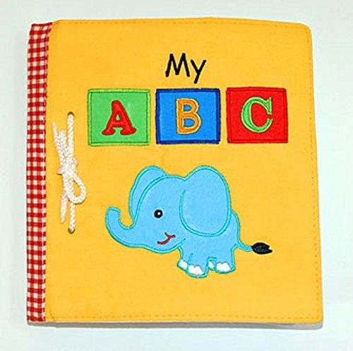 布絵本MY ABC book New!!英語刺しゅう版 知育
