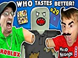 Roblox Zombie Rush and Hello Neighbor Beta First Reaction