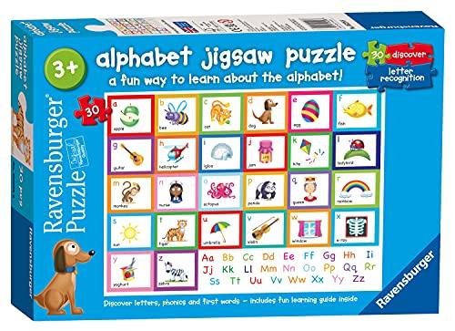 Ravensburger - Puzzle da 30 pezzi, per bambini dai 3 anni in su, giocattoli educativi per bambini