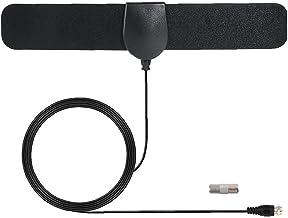 LWWL-Accessories TV Antenna Digital TV Antenna Booster Indoor Signal Booster Amplifier HDTV Signal Antenna Freeview Black