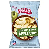 Seneca Granny Smith Apple Chips | Made from Fresh Apples | 100% Granny Smith Apples | Yakima Valley Orchards of Washington | Crisped Apple Perfection | Foil-Freshness bag | 2.5 ounce (Pack of 12)