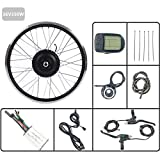 Accesorios De La Bicicleta Eléctrica Kit E-Bici Kit De La Rueda Trasera De Cassette Motor 36V350W Kit De Conversión De La Bici Eléctrica Con Pantalla KT LED900S Fácil De Instalar,27.5inch LCD Sets