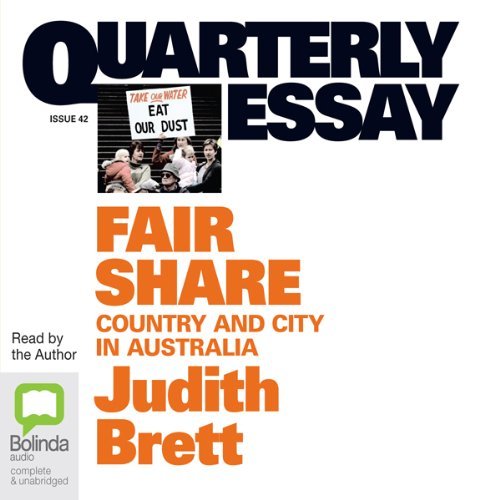 Quarterly Essay 42: Fair Share cover art