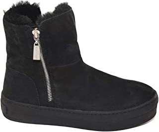 J Slides Womens Henley Leather Round Toe Ankle Cold Weather Boots US