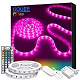 LED Strip Light, Govee 32.8ft RGB Light Strip Kit with Remote and Control