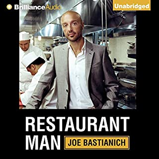Restaurant Man audiobook cover art