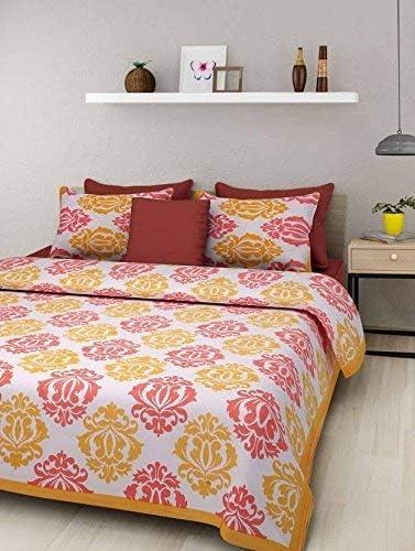 Quality inspection SataanReaper Presents 144Tc 100% Cotton Print Jaipuri Brand new Rajasthani