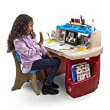 Step2 Deluxe Art Master Kids Desk | Assembles In Min, Multi/None, Model Number: 702500