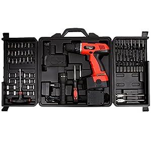 Trademark Tools 75-66007 Hawk 78-Pc 18 Volt Cordless Drill Set from Trademark Tools