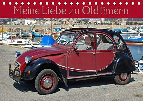 Meine Liebe zu Oldtimern (Tischkalender 2020 DIN A5 quer)