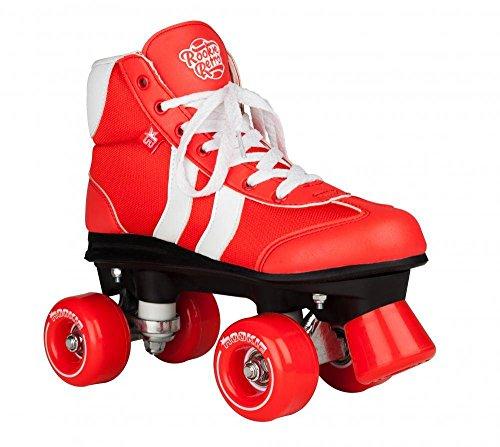 ROOKIE Unisex Rollerskates Retro V2.1 RKE-SKA-0401 34,5 Red/White